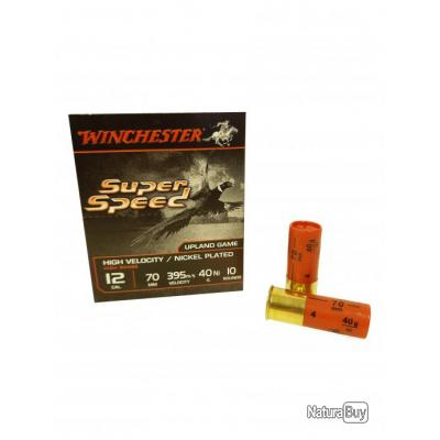 Cartouches winchester super speed 12 70 40 gr