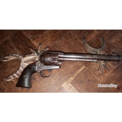 Colt frontier  44/40 six shooter  en  7,1/2 pouces  année  1894  cadre a vis