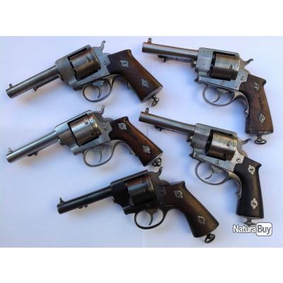 Lot de revolver 1870 de Marine