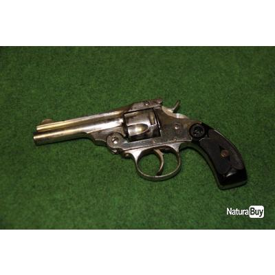 REVOLVER  SMITH  ET  WESSON      EUSKARO   MODELE  1884 CALIBRE  32