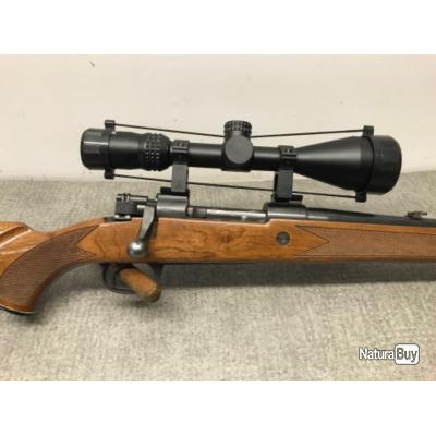 CARABINE 243win MIDLAND GUN SILENCIEUX + LUNETTE VEOPTIK 3-9x50 NEUVE - 1 euro sans prix de réserve