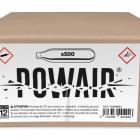 Lot de 500 Sparclettes CO2 POWAIR pour armes à plombs / Airsoft / HDR50 / HDS68 / TPX etc.. 3/4x