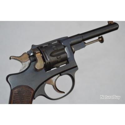 REVOLVER ST ETIENNE Mdl 1887 CIVIL Calibre 8 mm - France IIIe Republique France XIX eme Civil Neuf