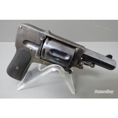 révolver HAMMERLESS de fabrication BELGE calibre 8mm