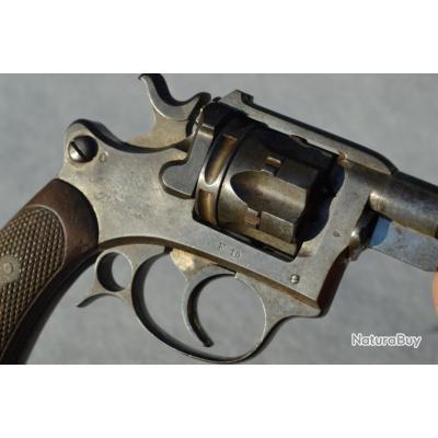 REVOLVER ESSAI ST ETIENNE Mdl 1887 daté 1888 Calibre 8 mm - France IIIe Rep. Reglo France France Trè