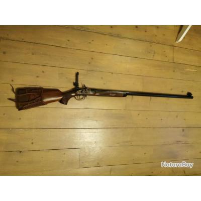 Fusil poudre noir pedersoli gibbs