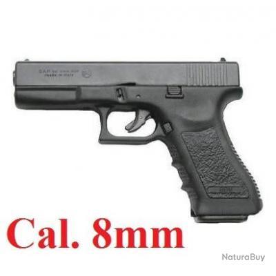 Pistolet Gap 8 MM, réplique du Glock 17