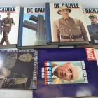 Lot DE GAULLE , reliures magazines Tomes I II III IV, Collection