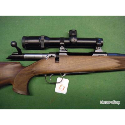 CARABINE MAUSER M94 EN 9.3X62 EQUIPE D UNE LUNETTE SWAROVSKI HABITCH EN 1.25-4X24 A UN EURO