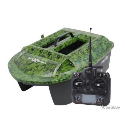 Bateau amorceur Anatec maxboat avec sondeur et batterie lithium