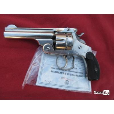 TRÈS BEAU SMITH AND WESSON CAL 44 RUSSIAN A 4 POUCES