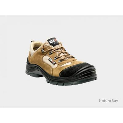 Chaussures de sécurité basses type randonnée HEROCK Cross Beige