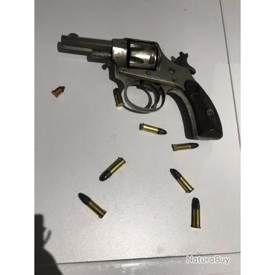 Revolver calibre 22 HOPKINS & ALLEN modèle XL