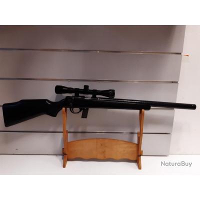 5647 - CARABINE ARMSCOR M1400BOIS CUSTOM  SILENCE CAL 22LR + LUNETTE 4X32   NEUF