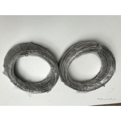 15 m de Câble 5 mn neuf