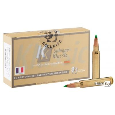 20 MUNITIONS GRANDE CHASSE SOLOGNE 338/378 WEATHERBY MAGNUM NOSLER ACCUBOND 225GRS