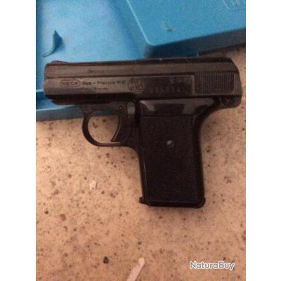 Pistolet 8mm a blanc ReCK enchere