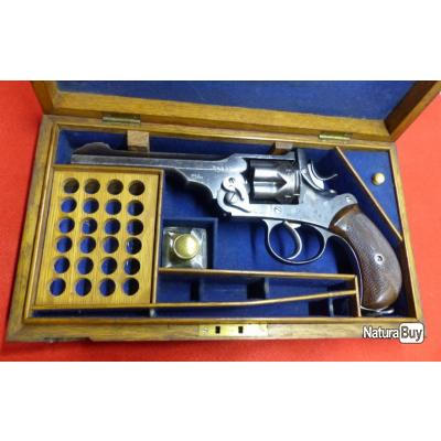 WEBLEY GOVERNMENT . 455/476 AVEC PEDIGREE