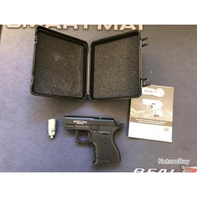 Ekol Botan noire Mat calibre 9mm Pistolet à blanc 7 coups