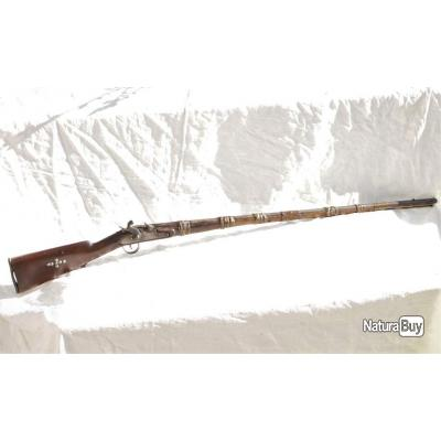 Mukhala - Moukala - Moukhala - fusil oriental - Afrique du Nord - Jolie patine en bon état général