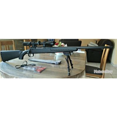 Carabine Savage Axis Canon Lourd calibre 308 + Lunette Burris et accessoires + munition - Neuf !!!