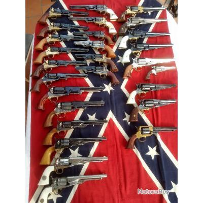 Collection de revolvers pn et son presentoir Bien lire SVP