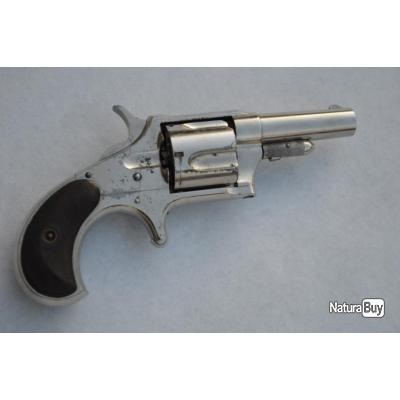 REVOLVER REMINGTON SMOOT NEW MODEL N°4 Calibre 38 RF - USA XIXè Très bon  U.S.A. XIX eme Civil Categ