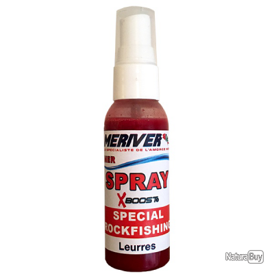Spray attractant liquide Myst spécial Rockfishing 50 ml MERIVER
