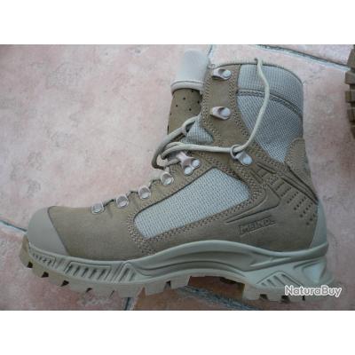 Chaussures MEINDL DEFENCE DESERT taille 41 Neuves / rangers desert meindl !!!PROMO!!!