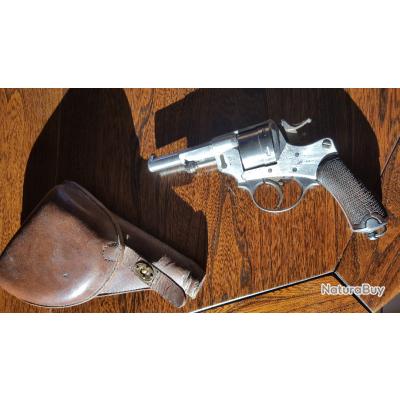 "Revolver Saint Etienne 1873 + Etui ""jambon"""