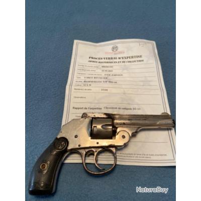 Revolver Iver Johnson harmmerless top break