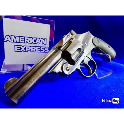 "Smith & Wesson 38 Safety 4Th model (tardif) ""New Departure"" Canon de 3,5 pouces état neuf ."
