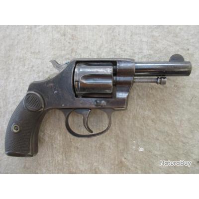 Rare Colt new pocket canon court 6 coups cal 32 sw long avec poignee police en sus