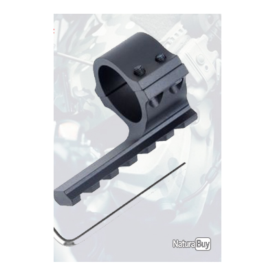 collier diamètre 30 mm avec rail weaver long 40 mm
