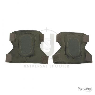 PAIRE DE COUDIERES OLIVE EN NEOPRENE PROTECTION AIRSOFT MARQUE MFH