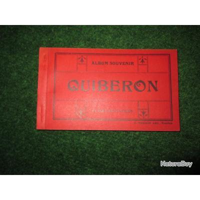 """cartes postales """"QUIBERON"""" carnet début 1900"""