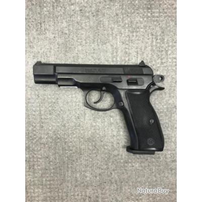 PISTOLET D'ALARME CALIBRE 9mm PAK MOD 75 AUTO - 1€ sans prix de réserve