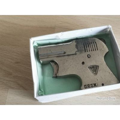 Rare unique en vente pistolet kolibri 22a blanc