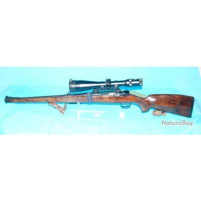 Carabine à verrou Brünner, Modèle K98 Calibre 30-06, détente stetcher, Jagdlich, stutzen, lunette