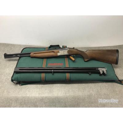 COMBO LAURONA CALIBRE 12/70 et 8x57JRS (2 paires de canons) + HOUSSE - 1€ sans prix de réserve