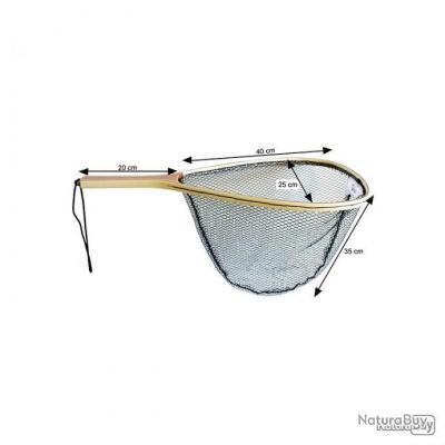 PN-Autain-Epuisette Truite raquette bois Fario