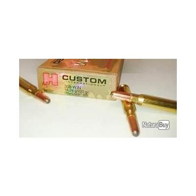 balles hornady 308win custom inter 220gr