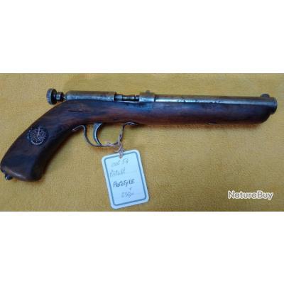 Prototype pistolet monocoup cal.54