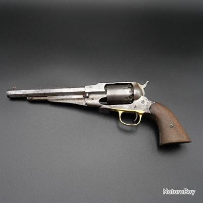 Révolver Remington Type 1858 New Model Army avec marquage reception militaire