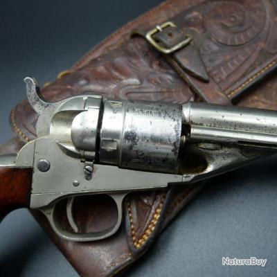 Rare Révolver Colt Pocket conversion cartouche métallique