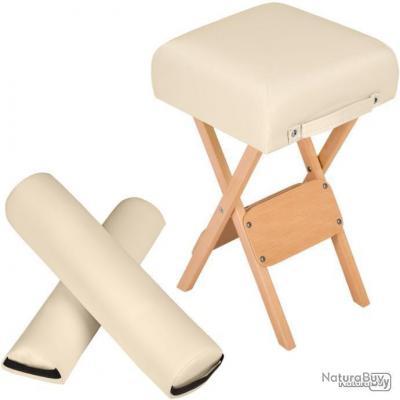 Accessoires pour table de massage beige