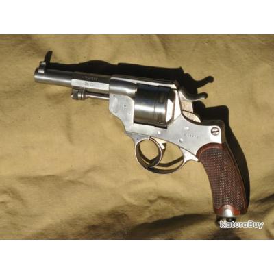 Revolver français modèle 1873 et accessoires.