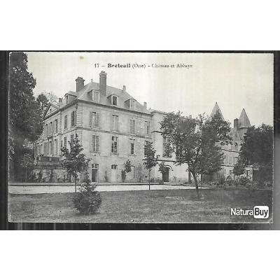 breteuil chateau et abbaye , oise , picardie