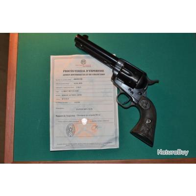 Colt SAA  Mle 1873 cal 45  colt US shérif police Army légende de l'ouest américan eagle