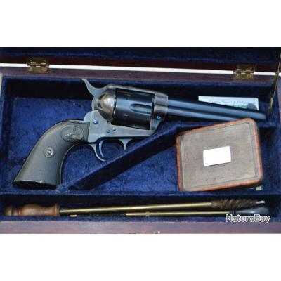 REVOLVER COLT SINGLE ACTION ARMY SAA 1873 - 1898 Cal.41 Long Colt - USA XIXè Très bon  U.S.A. XIX em